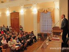Молодежь Крыма, Первый вице-премьер Крыма встретился со студентами
