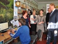 рабочий визит, Первый вице-премьер посетил с рабочим визитом Белогорский район