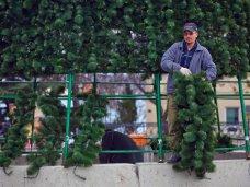 Городская елка, В Севастополе устанавливают 15-метровую елку