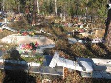 Вандализм, В Крыму дети разгромили могилы на сельском кладбище