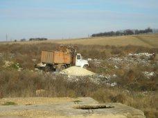 Свалка, Вокруг аэропорта в Симферополе обнаружили свалки мусора