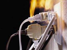 Пожар, В Ялте из-за замыкания проводки пришлось эвакуировать больных психдиспансера