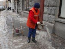 Подготовка к зиме, В Симферополе запаслись песчано-соляной смесью для посыпки дорог