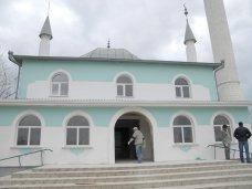 Мечеть, В Сакской мечети идут восстановительные работы