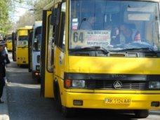 общественный транспорт, Водителей маршруток в Симферополе призвали ездить аккуратнее