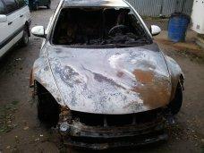 Пожар, Ночью в Симферополе сгорел автомобиль