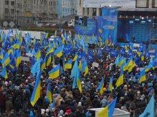 политическая ситуация в Украине, Митинг в поддержку Президента объявлен бессрочным