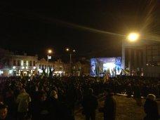 Таможенный союз, В Симферополе прошел митинг за добрососедские отношения с Россией