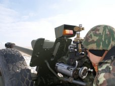 Учения, В Крыму проходят плановые учения танкистов и артиллеристов