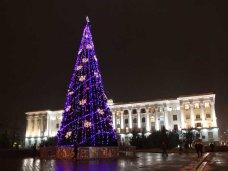 Городская елка, В Симферополе зажгут огни на городской елке