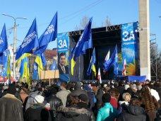 политическая ситуация в Украине, В Киев с лозунгами «Украина – не майдан» уехала еще тысяча крымчан