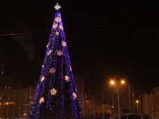 Городская елка, В Симферополе зажглась главная городская елка