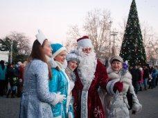 Городская елка, В Севастополе начали отмечать Новый год