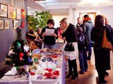 Выставка, В Севастополе представили «Новый год как подарок»