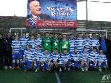 Футбол, Турнир памяти Заяева выиграли севастопольцы