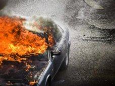 Пожар, За выходные в Крыму трижды горели автомобили