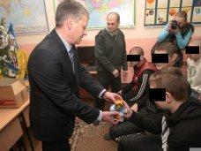 СИЗО, В симферопольском СИЗО подростков поздравили с наступающими праздниками
