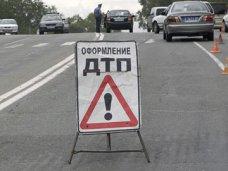 ДТП, Под Белогорском столкнулись два автомобиля