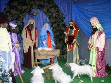 Рождество, В Симферополе открыли Рождественский вертеп