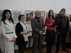 Выставка, В Симферополе открылась выставка акварели крымского архитектора