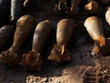 Боеприпасы, Возле Бахчисарая нашли 27 боеприпасов времен войны