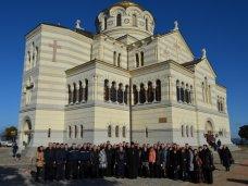 молебен, В Севастополе прошел молебен за здравие спасателей
