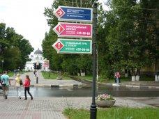 указатели, В Саках установят туристические указатели