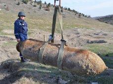 Боеприпасы, В Севастополе уничтожили авиабомбу времен войны