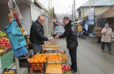 стихийная торговля, В Алуште прошел рейд по борьбе со стихийной торговлей