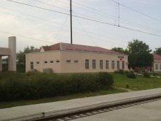 Пожар, На железнодорожной станции под Симферополем произошел пожар