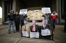 политическая ситуация в Украине, В Симферополе прошла акция против оппозиционеров