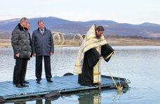 Крещение, На Крещение в Севастополе освятили водохранилище