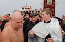 Крещение, В Евпатории устроили крещенские купания
