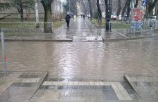 Потоп, Дождь затопил улицы Симферополя
