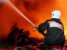 Пожар, На пожаре в крымском селе погиб мужчина
