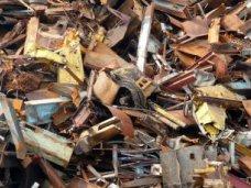 Металлолом, В Алуште участились факты кражи металлических конструкций
