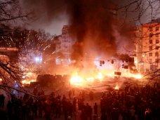 политическая ситуация в Украине, Противостояние в Киеве в фотографиях