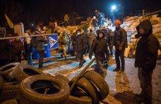 политическая ситуация в Украине, Ночь в Киеве в фотографиях