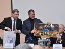 встреча, Члены Президиума Верховной Рады АРК пообщались с крымскими студентами-юристами