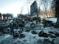 политическая ситуация в Украине, Новые баррикады в Киеве