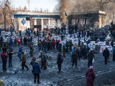 политическая ситуация в Украине, В Киеве ждут чрезвычайного положения к вечеру, – журналист