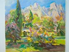 Выставка, В Севастополе проходит выставка крымских пейзажей