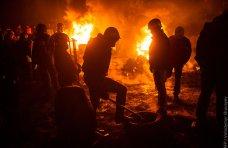 политическая ситуация в Украине, Обстановка в Киеве напоминает реальные боевые действия, – журналист