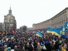 политическая ситуация в Украине, Версия о двух независимых акциях в центре Киева несостоятельна, – журналист