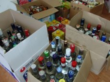 Фальсификат, В Ялте изъяли поддельный элитный алкоголь на 500 тыс. грн.