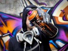 граффити, С начала года в Ялте граффитчики разрисовали 70 зданий