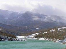 В Алуште из-за ливней увеличился приток в водохранилище