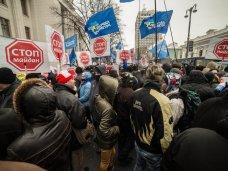 политическая ситуация в Украине, Крымчане прибыли в Киев