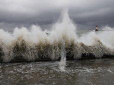 штормовое предупреждение, В последние дни января в Крыму будет штормить