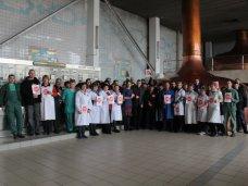 Стоп-Майдан, «Стоп майдан» провел акцию для работников ПБК «Крым»
